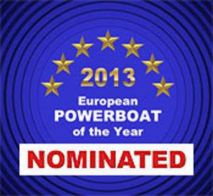 Номинант престижной премии European Powerboat of the Year 2013 Awards